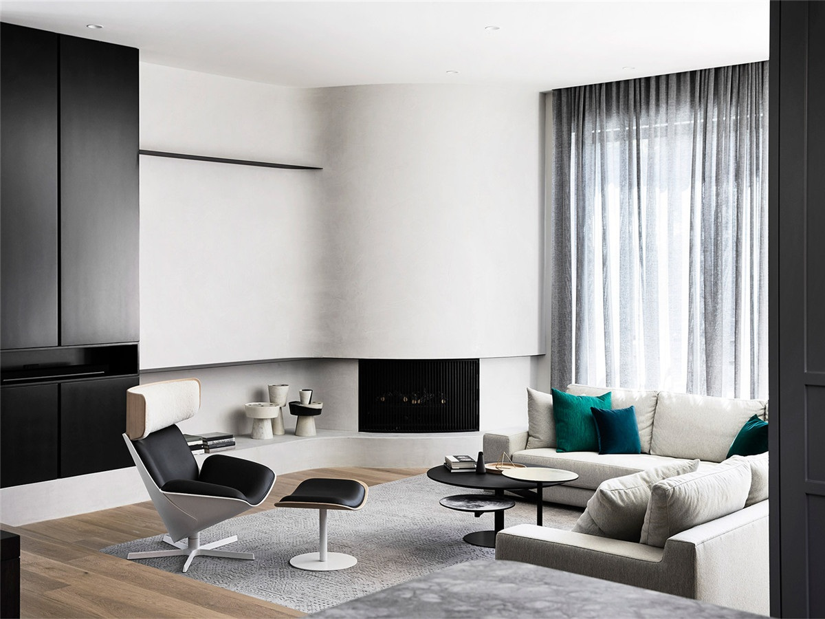 苏州89平米客厅装修设计